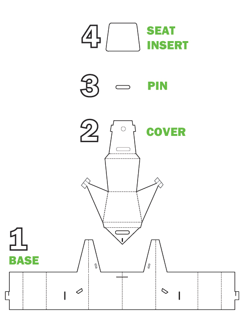 cardboard chair instructions. Simple Instructions Zeppo With Cardboard Chair Instructions R
